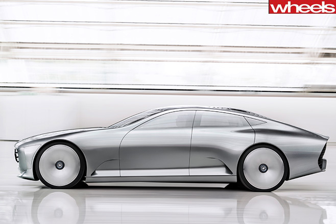 Mercedes -Concept -IAA-shape -shifting -coupe -side