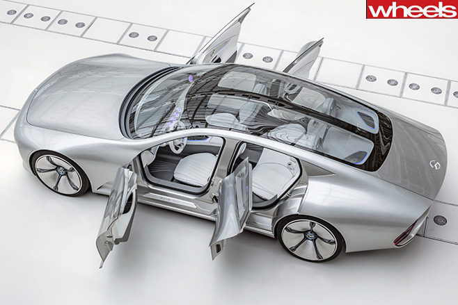 Mercedes -Concept -IAA-shape -shifting -coupe -top -side