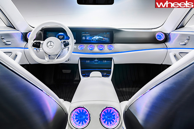 Mercedes -Concept -IAA-shape -shifting -coupe -interior
