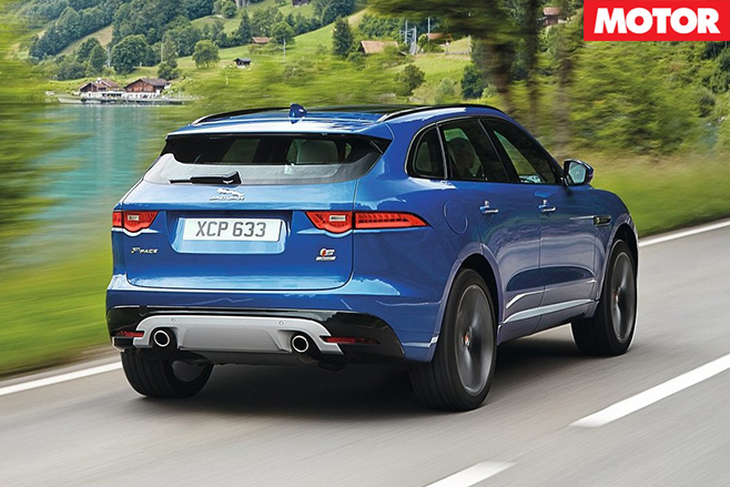 Jaguar f-pace 1
