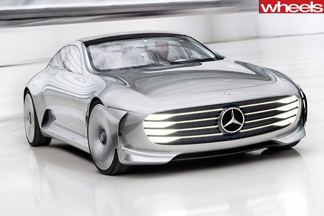 Mercedes -concept -front