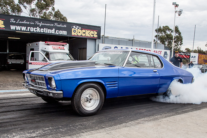 Brendan cherry twin turbo monaro