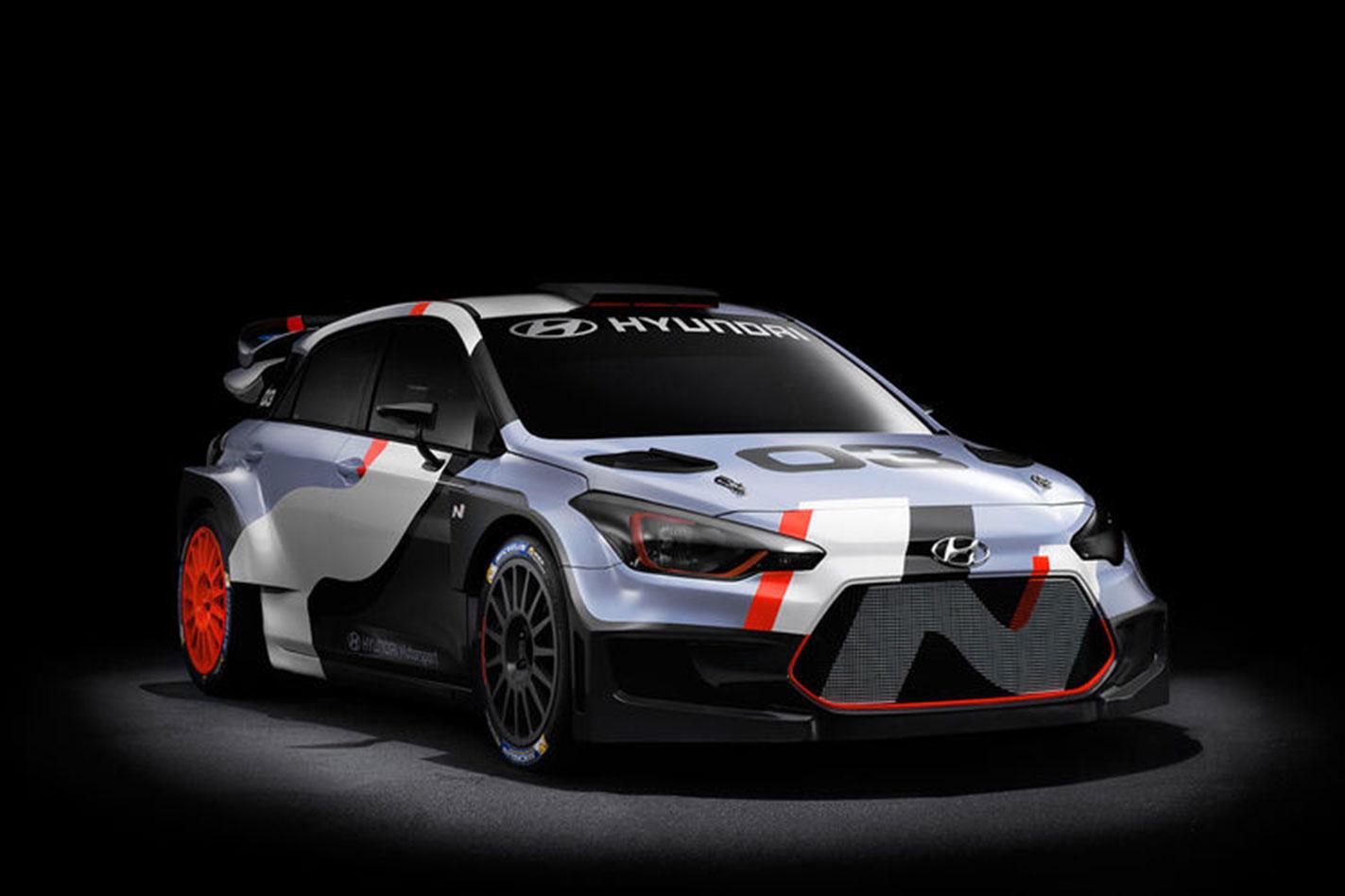 Frankfurt -Motor -Show -Hyundai -i 20-WRC
