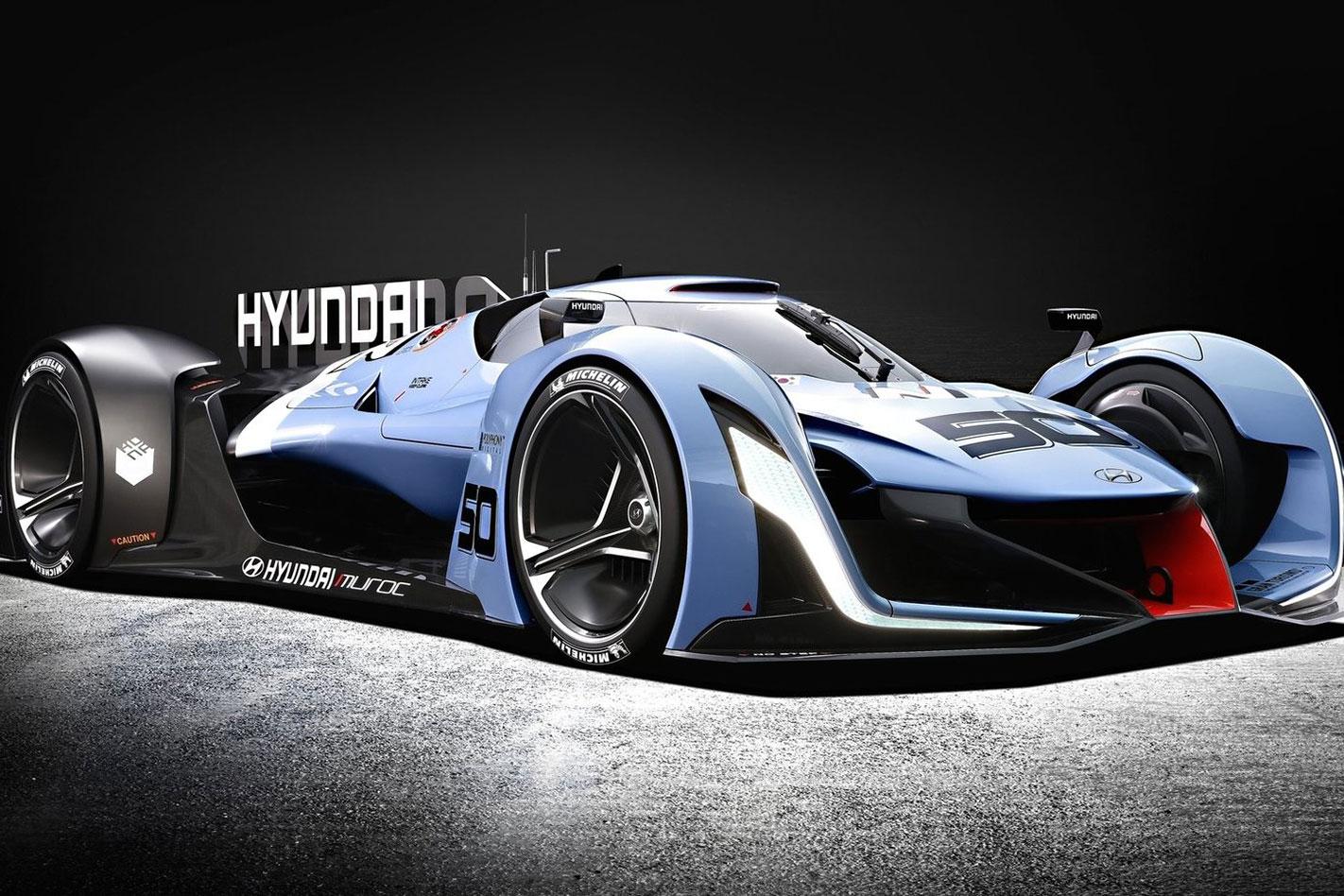 Frankfurt -Motor -Show -Hyundai -Gran -Turismo -Concept -1