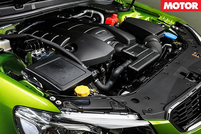 Holden VF II SS engine