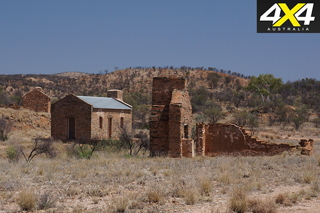 East macdonnell ranges old ruins