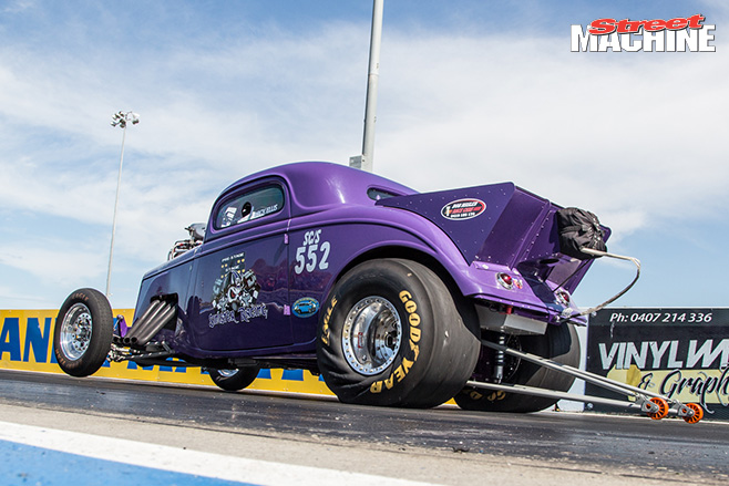 Calder supercharged outlaw coupe