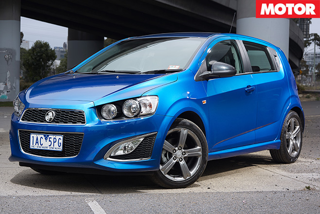 Holden barina rs 3