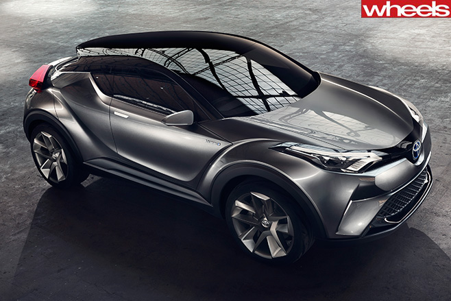 Toyota -CH-R-Concept -top -front -side