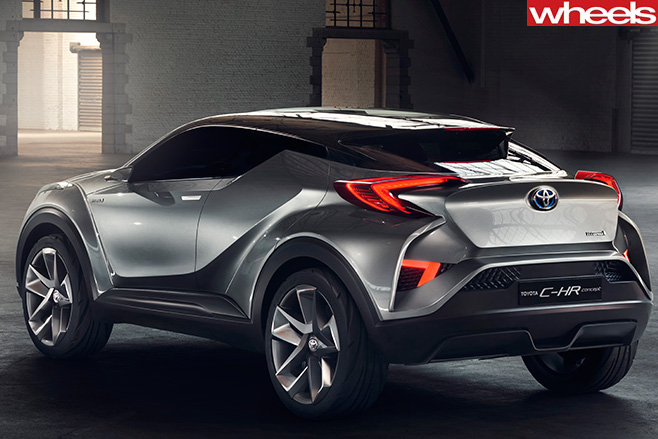 Toyota -CH-R-Concept -rear