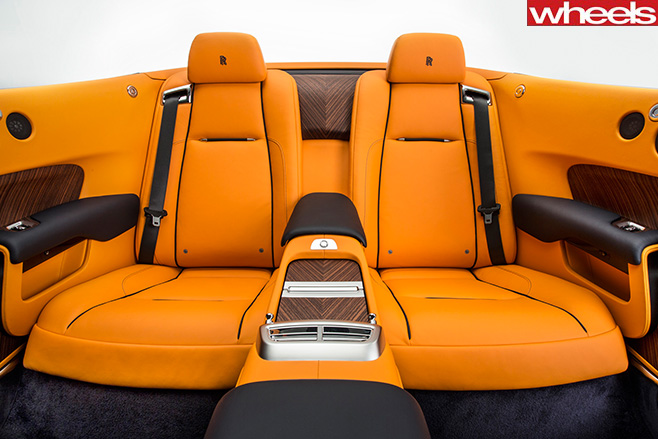 Rolls -Royce -Dawn -rear -seats-