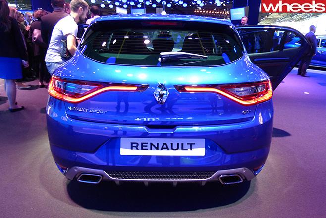 Renault -Megane -rear