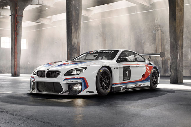 Frankfurt -Motor -Show -BMW-M6-GT3-officially -revealed -front -on