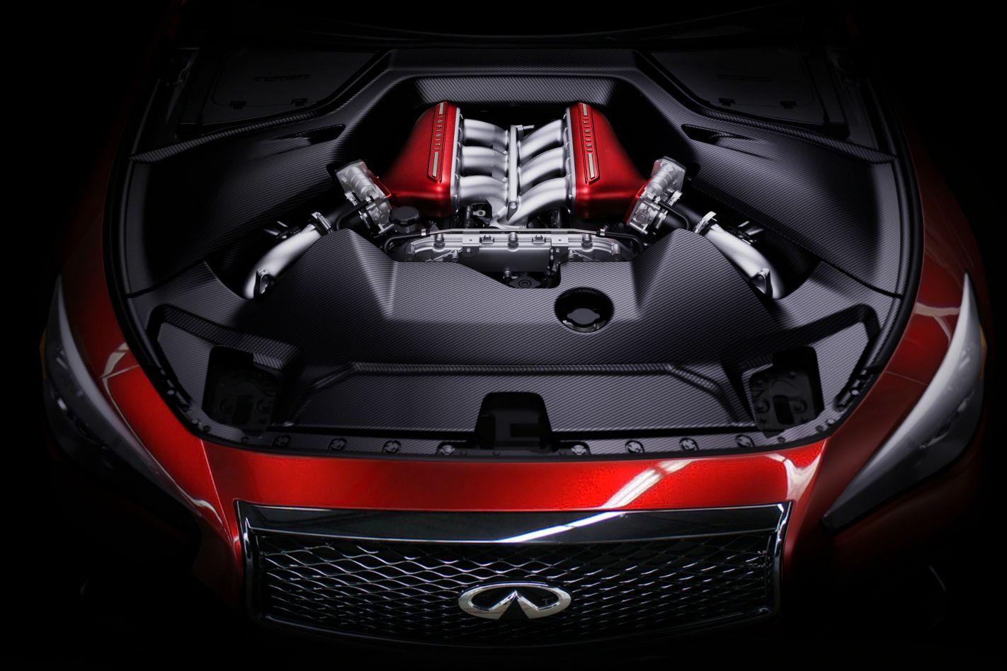 Infiniti Eau Rouge Engine