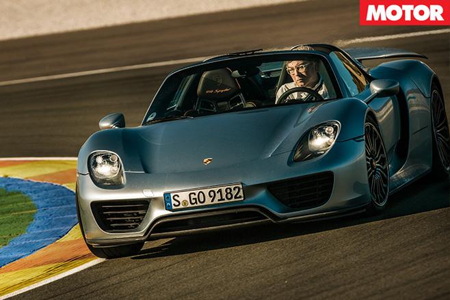 Porsche 918 spyder 8