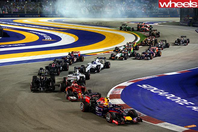 Singapore -F1-S-Bend
