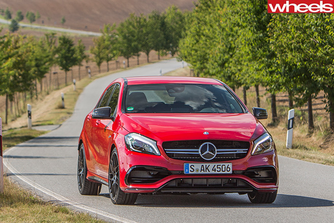 Mercedes -AMG-A45-drive -front