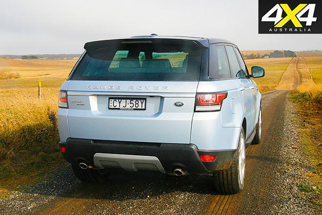 Range rover sport hybrid rear