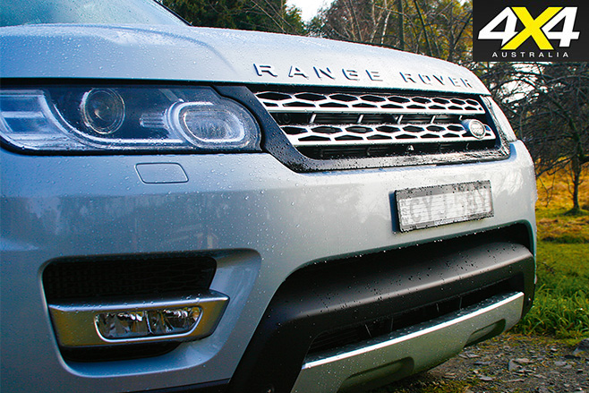 Range rover sport hybrid grill