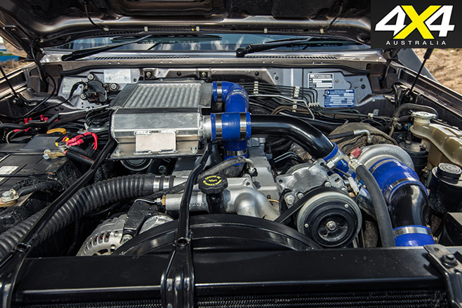 Nissan Patrol Optimizer 6500 V8 engine