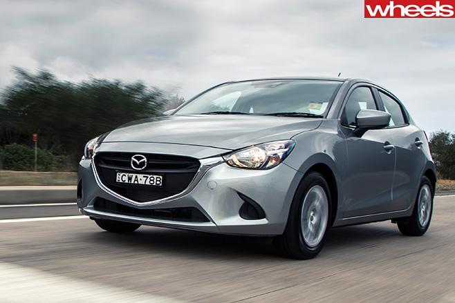 Mazda -2-front
