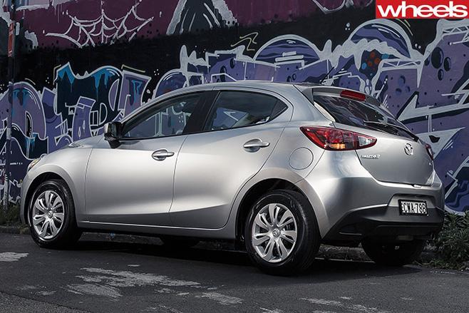 Mazda -2-rear