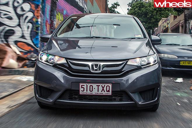 Honda -jazz -front