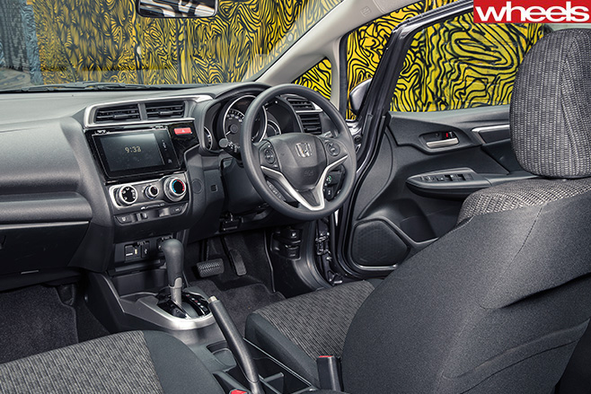 Honda -jazz -interior