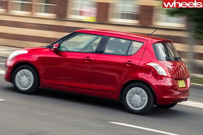 Suzuki -swift -rear