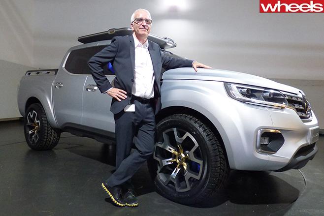 Renault -Alaskan -MD-Justin -Hocevar