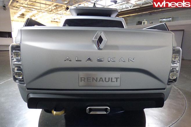 Renault -Alaskan -rear