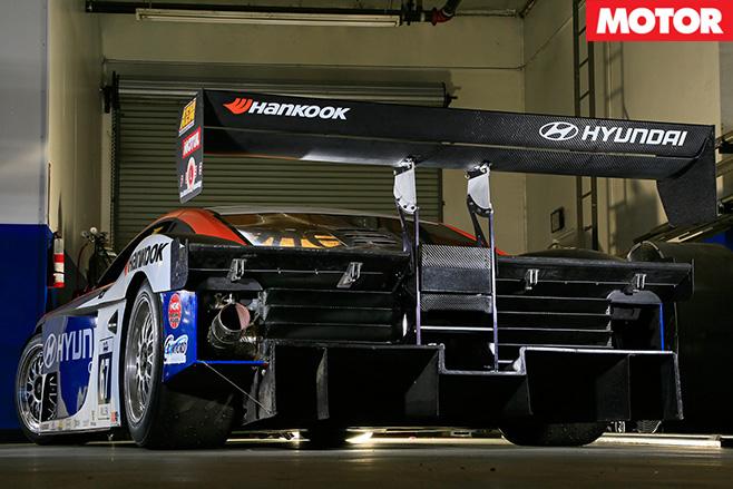 RMR Hyundai Genesis PM580T rear