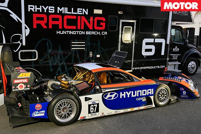 RMR Hyundai Genesis PM580T taken apart