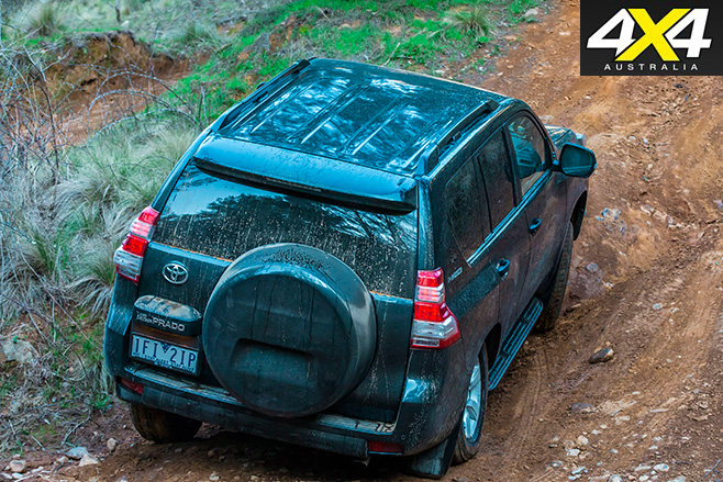 Toyota prado 2016 rear