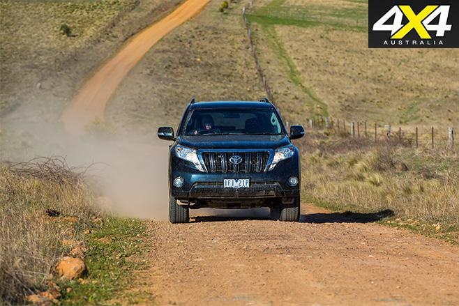Toyota prado 2016 country roads
