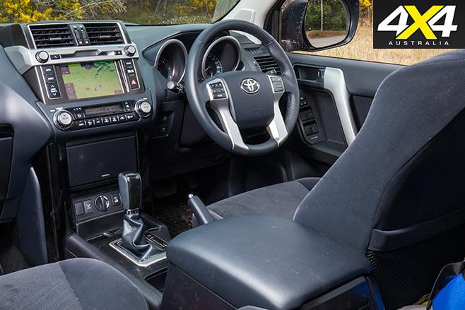 Toyota prado 160 series interior