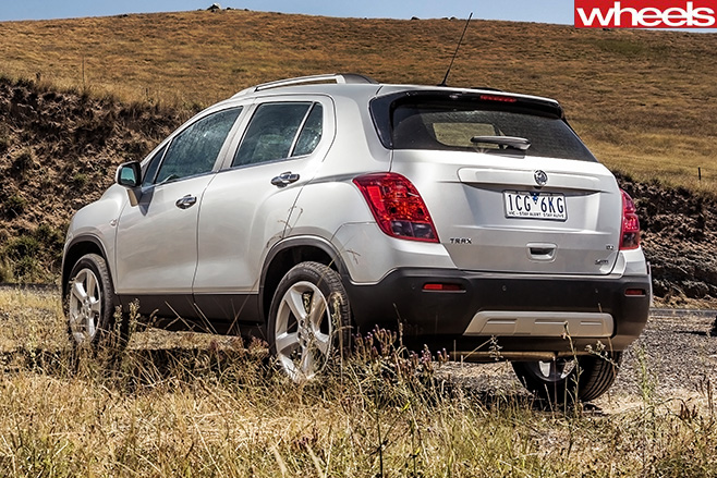 Holden -Trax -rear
