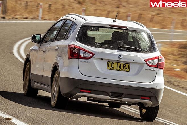 Suzuki -S-Cross -rear