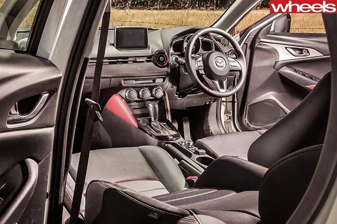 Mazda -Cx -3-Interior