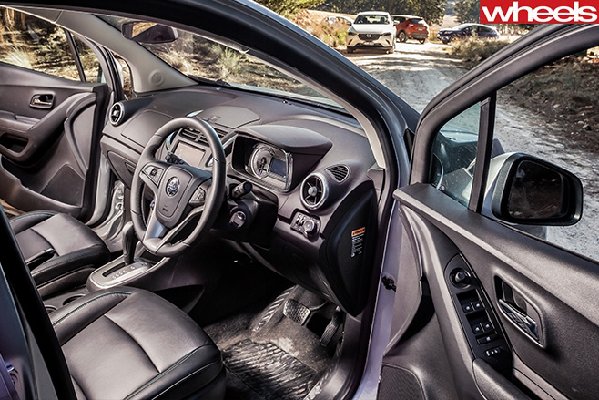 Holden -Trax -interior