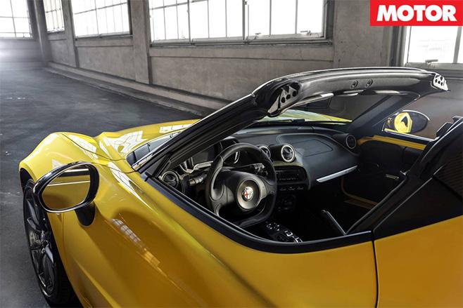 Alfa Romeo 4C Spider 3