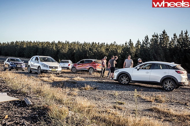 Mazda -Cx 3-Honda -HR-V-Suzuki -S-Cross -Renault -Captur -Holden -Trax