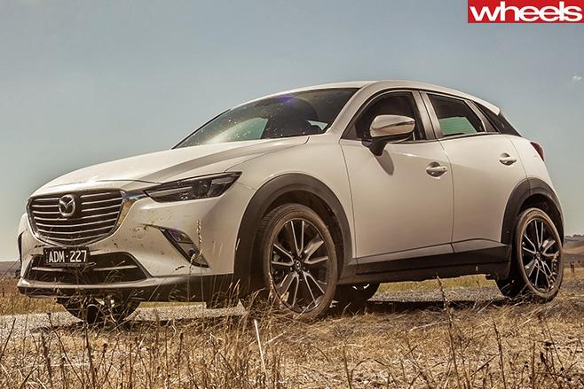 Mazda -Cx -3-side