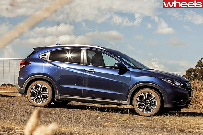Honda -HR-V-side