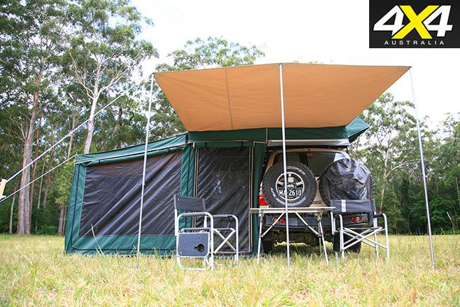 Shippshape Rooftop Bush Tent 1