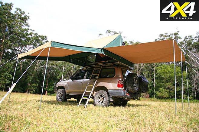 Shippshape Rooftop Bush Tent 4