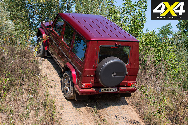 Mercedes-benz g-wagen g500 rear
