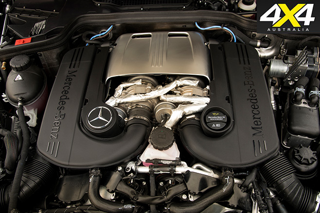 Mercedes-benz g-wagen g500 engine