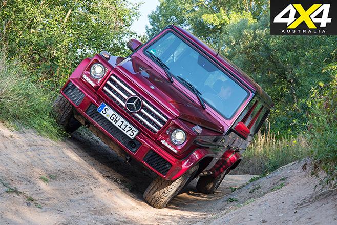 Mercedes-benz g-wagen g500 front