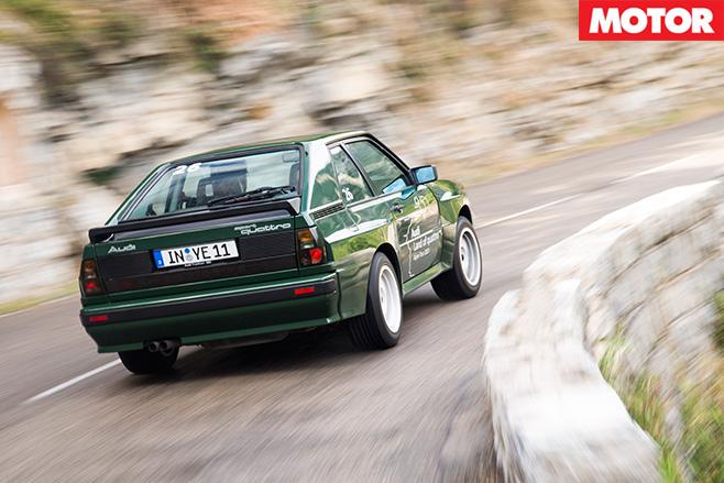 Audi sport quattro 1984 rear